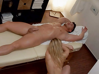 Young Girl Burst in Tears make sure of Rub down