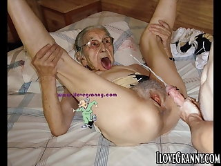 ILoveGrannY Nude Full-grown Pictures Compilation