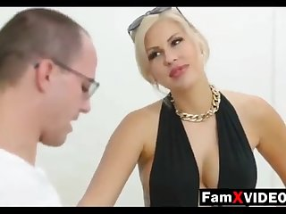 Steamy materfamilias pummels son-in-law and trains daughter-in-law - Total Free Mother Swelling Movies at FamXvideos.com