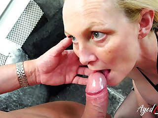 Professional pornstars Suzie Stone with an increment of Marc Kaye enjoying hardcore sexual life together