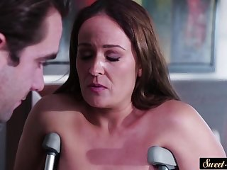 Seductive stepmom bangs her stepsons cock