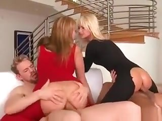Hot Babes Comprehend Anal And Facial From Plumbers