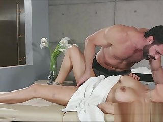 Squirting fuck rub down for big tit purchaser