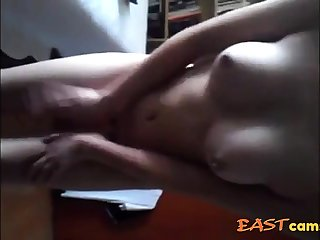 Asian girl has wet pussy