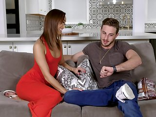 Housewife Christy Love from Asia fucked hard and sprinkled with cum
