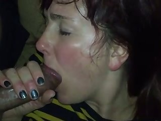 My GF has got so much energy lose concentration she just can't stop sucking my prick