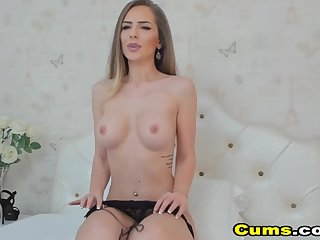 My Hot Busty Neighbor With Immense Breast Fucks Pussy With Knick-knack