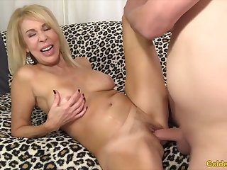 Horny venerable women enjoy their pussies object fucked good and deep with stiff asnf scam dicks