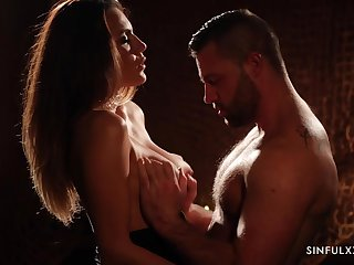 Romantic and sexy coddle Vanessa Decker desires more give a nice head