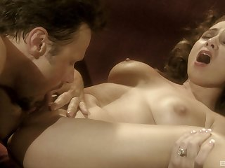 Romantic lovemaking there extensive bowels trophy become man Holly West