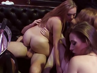 Pretty girlfriends fucked away from men to the darkness be worthwhile for a nightclub