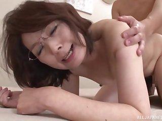 Japanese mature fucked hard and merciless