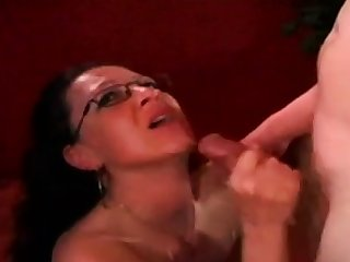 Hungarian Give someone a once-over Cumshot Compilation
